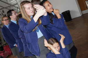 Using drama to explore concepts with Year 8